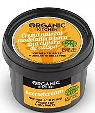 Perfumería y cosmética Crema modeladora corporal con cera blanca orgánica y extracto de flor de naranjo - Organic Shop Organic Kitchen Corsetcream