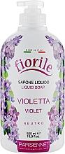 Perfumería y cosmética Jabón líquido con aroma a violeta - Parisienne Italia Fiorile Violet Liquid Soap