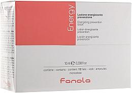 Perfumería y cosmética Loción anticaída de cabello con extracto de romero, ortiga y oligoelementos en ampollas - Fanola Energy Anti Hair Loss Lotion