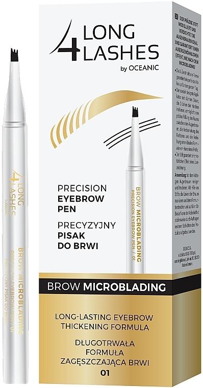 Lápiz de cejas efecto microblading - Long4lashes Precision Eyebrow Pen