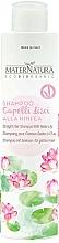 Perfumería y cosmética Champú para cabello liso con extracto de nenúfar - MaterNatura Water Lily Shampoo