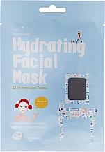 Perfumería y cosmética Mascarilla facial hidratante de tejido con complejo de agua mineral - Cettua Hydrating Facial Mask