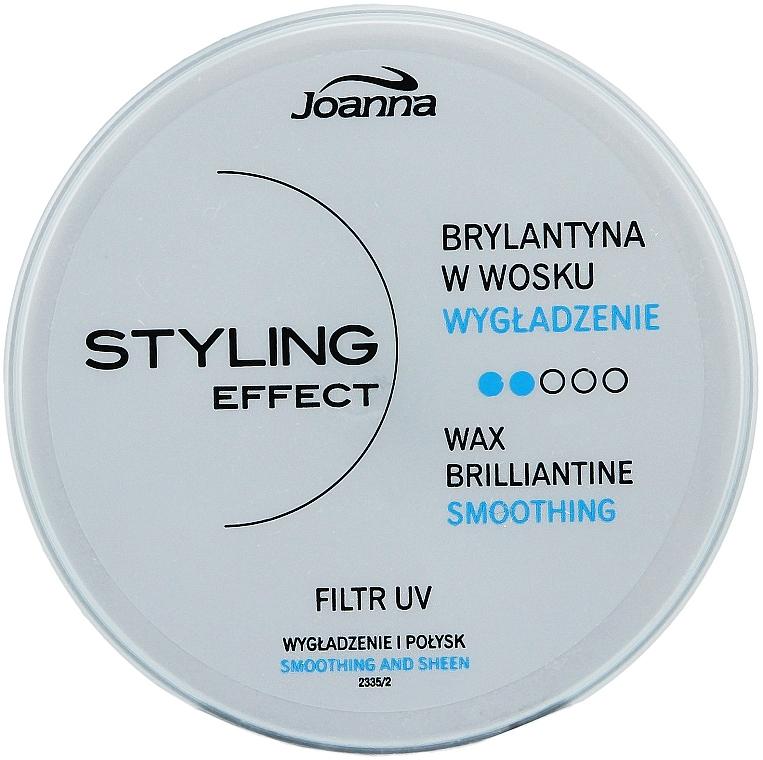 Cera para cabello, efecto duradero y brillo - Joanna Styling Effect Wax Brilliantine