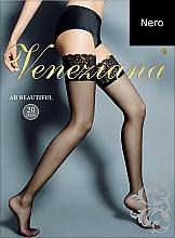 Perfumería y cosmética Medias Ar Beautiful, 20 Den, negro - Veneziana