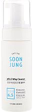 Perfumería y cosmética Espuma de limpieza facial con D-pantenol para pieles sensibles - Etude House Soon Jung pH 6.5 Whip Cleanser