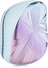 Perfumería y cosmética Cepillo de pelo desenredante - Tangle Teezer Compact Styler Smashed Holo Blue