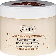 Perfumería y cosmética Exfoliante corporal a base de azúcar, praliné de chocolate - Ziaja Sugar Body Peeling