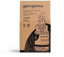 Perfumería y cosmética Recarga de tabletas dentales naturales con carbón activo - Georganics Natural Toothtablets Activated Charcoal