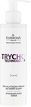 Perfumería y cosmética Exfoliante para cuero cabelludo con D-Pantenol - Farmona Professional Trycho Technology Specialist Scalp Scrub