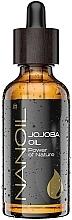 Perfumería y cosmética Aceite de jojoba para cuerpo, rostro & cabello, 100% orgánico - Nanoil Body Face and Hair Jojoba Oil