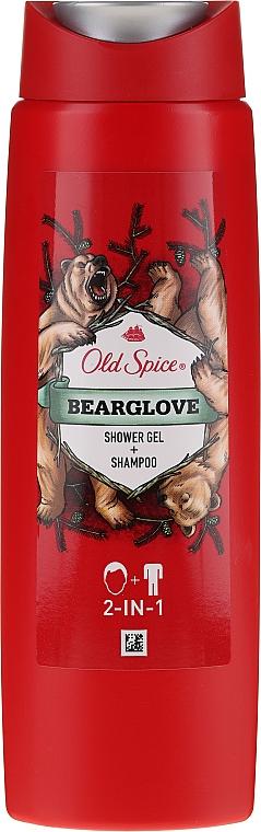 Champú y gel de ducha 2en1 - Old Spice Bearglove Shower Gel + Shampoo
