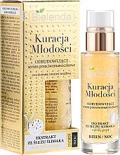 Perfumería y cosmética Sérum facial con oro coloidal, péptidos & extracto de baba de caracol - Bielenda Kuracja Mlodosci Serum