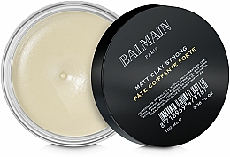 Perfumería y cosmética Arcilla para cabello con acabado mate, fijación fuerte - Balmain Matt Clay Strong