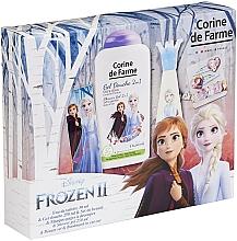 Perfumería y cosmética Corine De Farme Disney Frozen 2 - Set para niñas (edt/30ml+gel de ducha/250ml+accesorio)