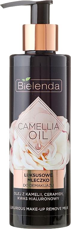 Leche desmaquillante con aceite de camelia - Bielenda Camellia Oil Luxurious Make-up Removing Milk