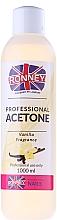 Perfumería y cosmética Quitaesmalte de uñas con acetona, aroma a vainilla - Ronney Professional Acetone Vanilia