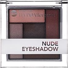 Perfumería y cosmética Paleta de sombras de ojos hipoalergénicas - Bell Hypoallergenic Nude Eyeshadow