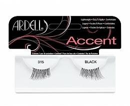 Perfumería y cosmética Pestañas postizas de esquina - Ardell Lash Accents Black 315