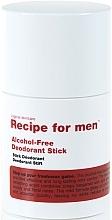 Perfumería y cosmética Desodorante stick, sin alcohol - Recipe For Men Alcohol Free Deodorant Stick