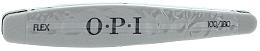 Perfumería y cosmética Lima de uñas 100/180 - O.P.I FLEX Silver