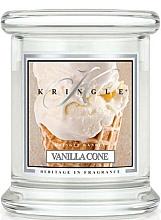 Perfumería y cosmética Vela en tarro con aroma a vainilla & leche - Kringle Candle Vanilla Cone
