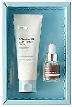 Perfumería y cosmética Set facial (crema/60ml + sérum/15ml) - iUNIK Beta Glucan Edition Skin Care Set