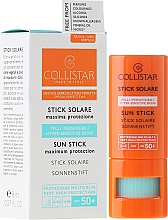 Perfumería y cosmética Stick protector solar con aceite de almendras dulces - Collistar Sun Stick SPF 50+