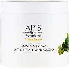 Perfumería y cosmética Mascarilla facial con algas, vitamina C y uva blanca - APIS Professional Vitamin-Balance Algae Mask