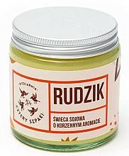 Perfumería y cosmética Vela aromática en tarro, naranja, clavo y canela - Cztery Szpaki