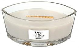 Perfumería y cosmética Vela aromática en vaso, lana caliente - WoodWick Hearthwick Flame Ellipse Candle Warm Wool
