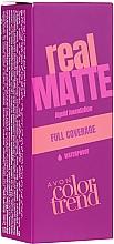 Perfumería y cosmética Base de maquillaje líquida, cobertura total, acabado mate - Avon Real Matte Color Trend