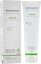 Perfumería y cosmética Pasta gel dental con vitamina B12 - Dentissimo Vegan with Vitamin B12