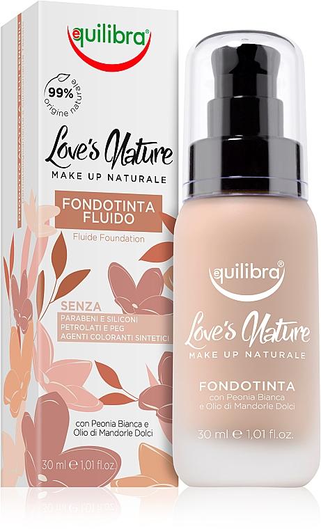 Base de maquillaje líquida - Equilibra Liquid Foundation Fluid