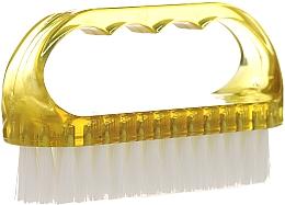 Perfumería y cosmética Cepillo de limpieza para uñas y manos 74752, amarillo - Top Choice