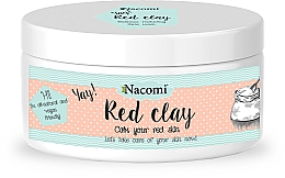 Perfumería y cosmética Mascarilla calmante en polvo para rostro y cuerpo con arcilla roja natural - Nacomi Red Clay