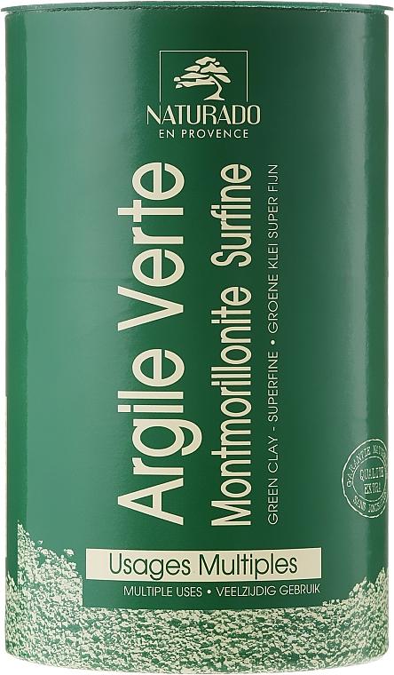 Arcilla verde rica en oligoelementos y sales minerales - Naturado Green Clay