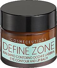 Perfumería y cosmética Bálsamo reafirmante de labios y contorno de ojos con hialuronato de sodio - Surgic Touch Define Zone Eye Contour And Lip Balm