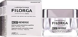 Perfumería y cosmética Crema facial correctora con ácido hialurónico, colágeno y vitaminas - Filorga NCTF-Reverse Supreme Regenerating Cream
