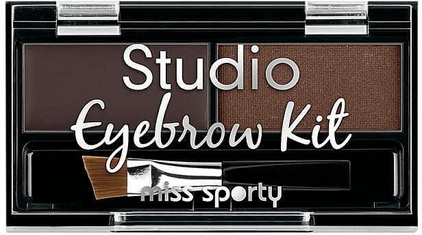 Paleta de sombras de cejas - Miss Sporty Studio Eyebrow Kit