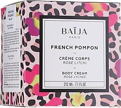 Perfumería y cosmética Crema corporal con aroma a rosa & lichi para pieles secas, maduras y sensibles - Baija French Pompon Rose Litchi Body Cream