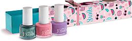 Perfumería y cosmética Set esmalte de uñas infantil, lavable y no tóxico - Snails Mini Bebe Berry-Licious (3uds.x7ml)