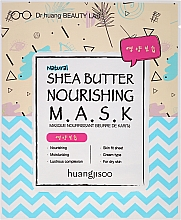 Perfumería y cosmética Mascarilla facial de tejido nutritiva con manteca de karité - Huangjisoo Shea Butter Nourishing Mask