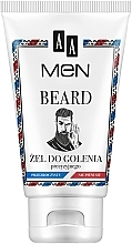 Perfumería y cosmética Gel de afeitar transparente - AA Men Beard Shaving Gel