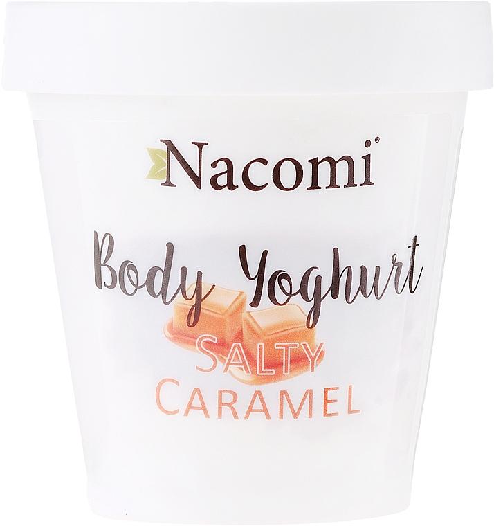 Yogur corporal con caramelo salado - Nacomi Body Jogurt Salt Caramel — imagen N1