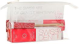Perfumería y cosmética Set para limpieza bucal - Swissdent Extreme Promo Kit (pasta dental/50ml+spray bucal/9ml+cepillo dental/suave/1ud.+neceser)