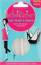 Perfumería y cosmética Plantillas protectoras de gel - The Foot Factory Gel Heel Liner Twin Pack