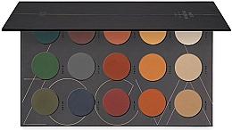 Perfumería y cosmética Paleta de sombras de ojos - Zoeva Matte Spectrum Eyeshadow Palette