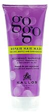 Perfumería y cosmética Mascarilla capilar reparadora con pantenol y proteína de leche - Kallos Cosmetics Gogo Repair Conditioner For Dry Hair