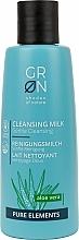 Perfumería y cosmética Leche facial limpiadora con aloe vera - GRN Pure Elements Aloe Vera Cleansing Milk
