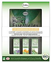Perfumería y cosmética Galeo Vital Oils For Summer - Set de bio aceites esenciales de verano (lavanda/10ml, citronela/10ml, naranja/ml)